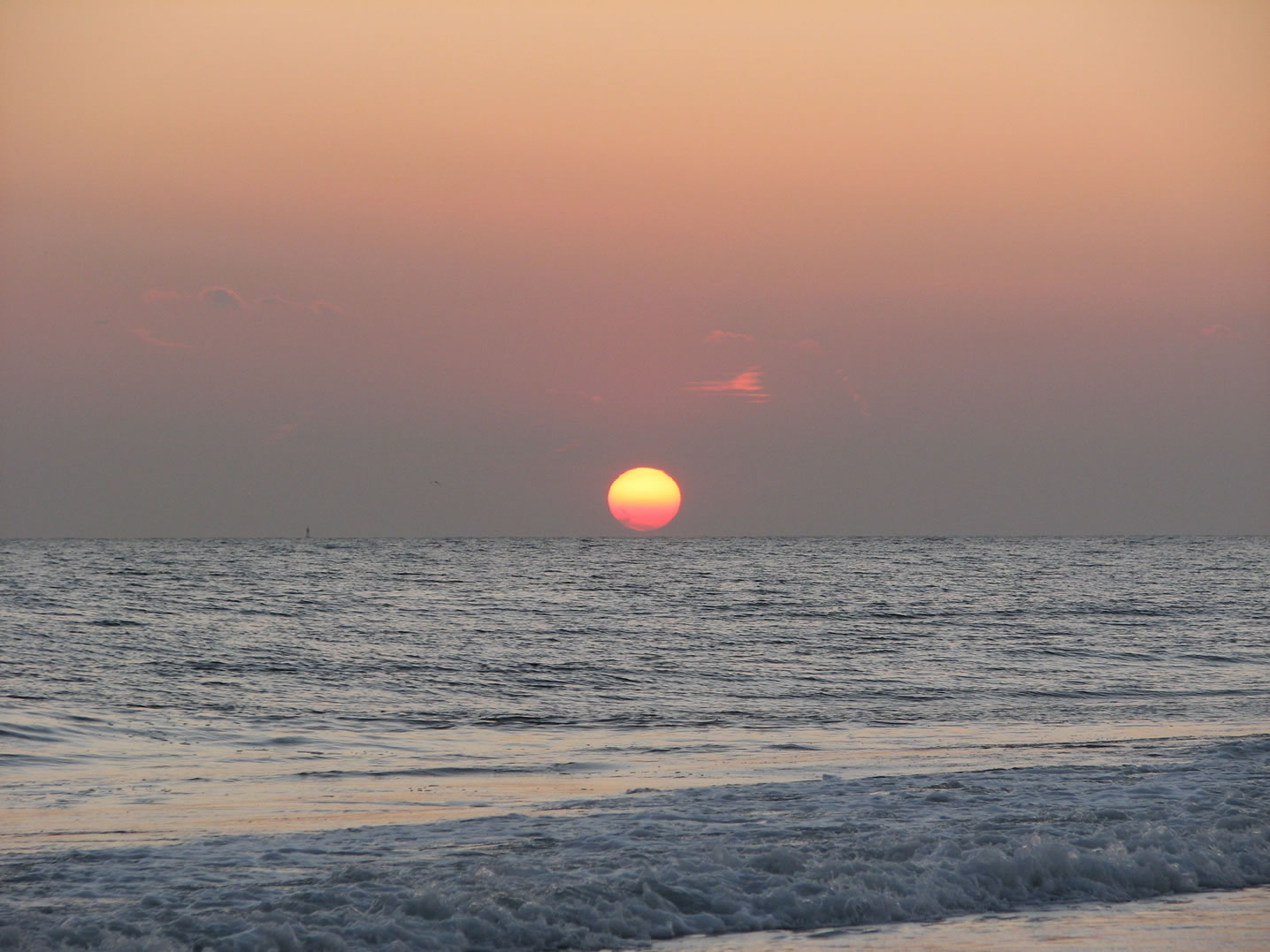Sunset at Robert Moses State Park